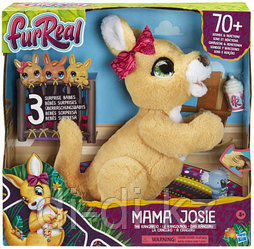 Интерактивная игрушка Hasbro Furreal Friends Кенгуру мама Джози и ее кенгурята