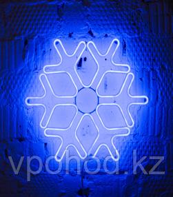 Светодиодная снежинка 60см