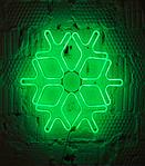 Светодиодная снежинка 60см, фото 3