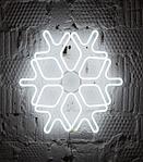 Светодиодная снежинка 60см, фото 4