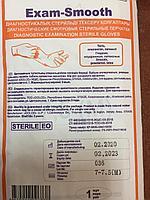 Диагностические стерильные смотровые перчатки