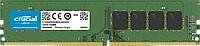 Оперативная память  4Gb DDR4 2666MHz Crucial  CL19 PC4-21300 SRx8 UDIMM 288pin CT4G4DFS8266