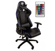 Кресло геймерское игровое HELL-GAMER C58J LED RGB, фото 2