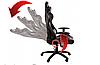 Кресло геймерское игровое HELL-GAMER C58J LED RGB, фото 3