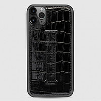 Чехол для телефона iPhone 11 Pro Max Finger-holder Black