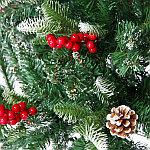 Ель с шишками и ягодами 240см, фото 2