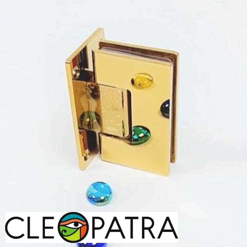 Петля для душевой кабины 90 гр золото