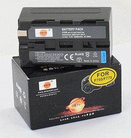 NP-F770/F750 (5000 mAh) аккумуляторы на видеокамеры SONY и прожекторы/мониторы от DEST