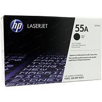 Картридж лазерный HP CE255A черный, для Laser Jet P3015-P3011, 6000 страниц