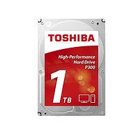 Жёсткий диск HDD 1Tb Toshiba P300 SATA6Gb-s 7200rpm 64Mb 3,5* HDWD110UZSVA