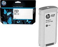 Картридж струйный HP B3P24A, 727, 130 мл, серый