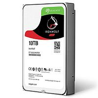 Жесткий диск для NAS систем 10Tb HDD Seagate IronWolf SATA 6Gbit-s 3.5* 7200 rpm 256Mb ST10000VN0008.