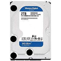 Жёсткий диск HDD 2 Tb SATA 6Gb-s Western Digital Blue WD20EZAZ 3.5* 5400rpm 256Mb