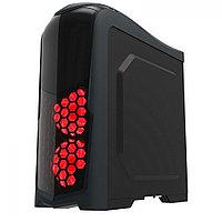 Корпус ПК без БП GameMax G539-RGB ATX, 3x120RGB-перед, 3x5.25, 4x3.5, 1x2.5, 2xUSB3.0, Audio