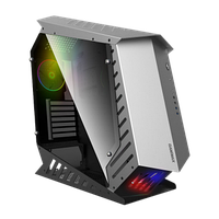 Корпус ПК без БП GameMax AUTOBOT ATX, 3x120 Rainbow, 3.5x3, 2.5x3, Buttons 2, USB2.0x2, USB3.0x2, HD Audio