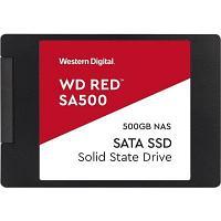 Твердотельный накопитель SSD WD Red SA500 NAS 3D NAND WDS500G1R0A 500ГБ 2,5* SATA-III (TLC)