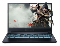 Игровой ноутбук Dream Machines G1660TI-15KZ02 15.6** FHD, i5-9300H, GTX1660Ti 6GB, NO RAM(Max 32GB- 2 слота),
