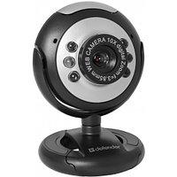 WEB-камера Defender G-lens C-110 Black 0.3МП, USB, универ. крепление. Многофункциональное ПО. Для работы не
