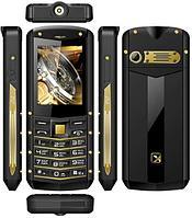 Мобильный телефон TM-520R цвет черный-желтый -
