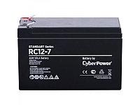 Аккумуляторная батарея Standard Series CyberPower RC 12-7 - 12В 7Ач (151x65х94(100)мм, 2.3кг.)