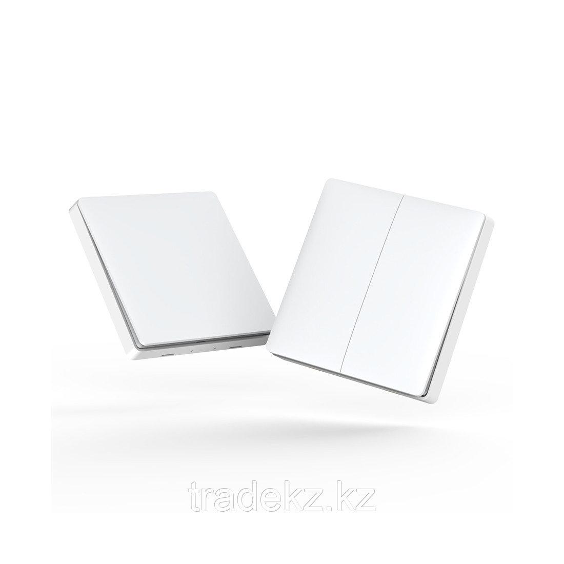 Беспроводной выключатель двойной Aqara Wireless remote switch, умный дом