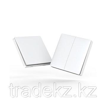 Беспроводной выключатель двойной Aqara Wireless remote switch, умный дом, фото 2
