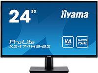 Монитор LCD 23.6** [16:9] 1920х1080(FHD) VA, nonGLARE, 250cd-m2, H178°-V178°, 3000:1, 80M:1, 16.7M, 4ms, VGA,