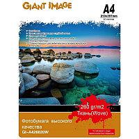 Фотобумага А4 GIANT IMAGE GI-A426020W 20 Л. 260 Г-М2 ткань