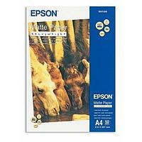 Бумага для струйной печати Epson C13S041256 A4 Matte Paper - Heavyweight, матовая, 50 листов, 167g-m2