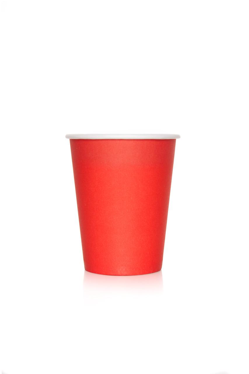 Стакан бумажный 250 мл Red