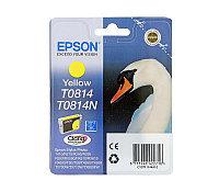 Картридж Epson C13T11144A10 (0814) R270-290-RX590_HIGH желтый