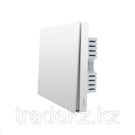 Настенный выключатель одноклавишный Aqara Wall Switch, умный дом, фото 2