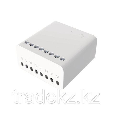 Настенный выключатель двухклавишный Aqara Wall Switch, умный дом, фото 2