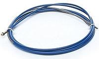 Канал стальной 0,8-1,0 мм, 5.4м (голубой) (спираль)