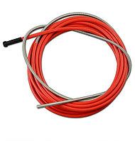 Направляющая спираль ( стальной лайнер) 2,0/4,5 ø1,0-1.2 на 4м (красный)