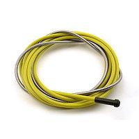 Направляющая спираль ( стальной лайнер) 2,5/4,5 ø1.2-1.6 на 5м (желтый)