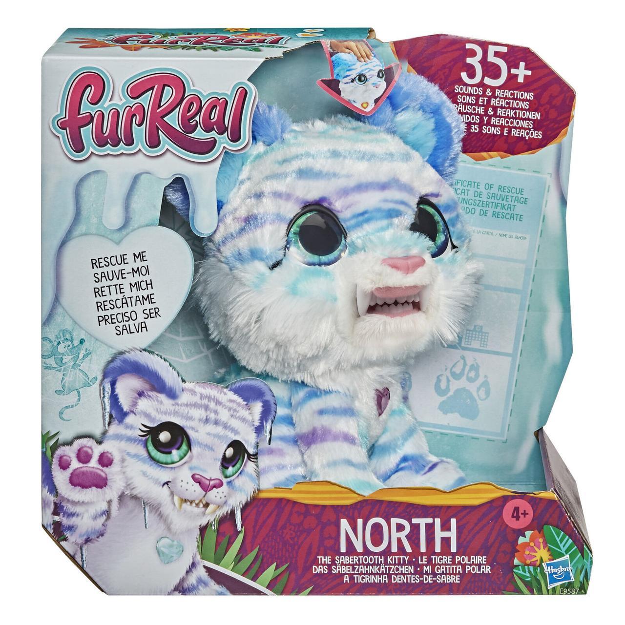 Интерактивная игрушка Hasbro FurReal Friends  Северный саблезубый котенок меховой