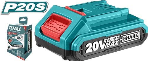 Аккумуляторная батарея TOTAL Li-ion 20В.2.0А.ч