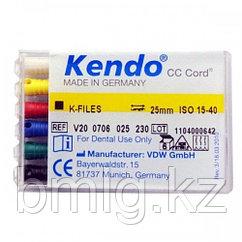 Ручной каналорасширитель Kendo, набор H-File, K-File