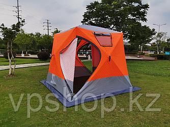 Зимняя палатка куб 3-х слойная для зимней рыбалки, Min Mimir-2017, доставка