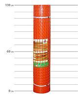 Аварийное ограждение (Аварийная оранжевая сетка) А-45. Алматы и Астана (Нур-Султан). Высота 1,3 м. м