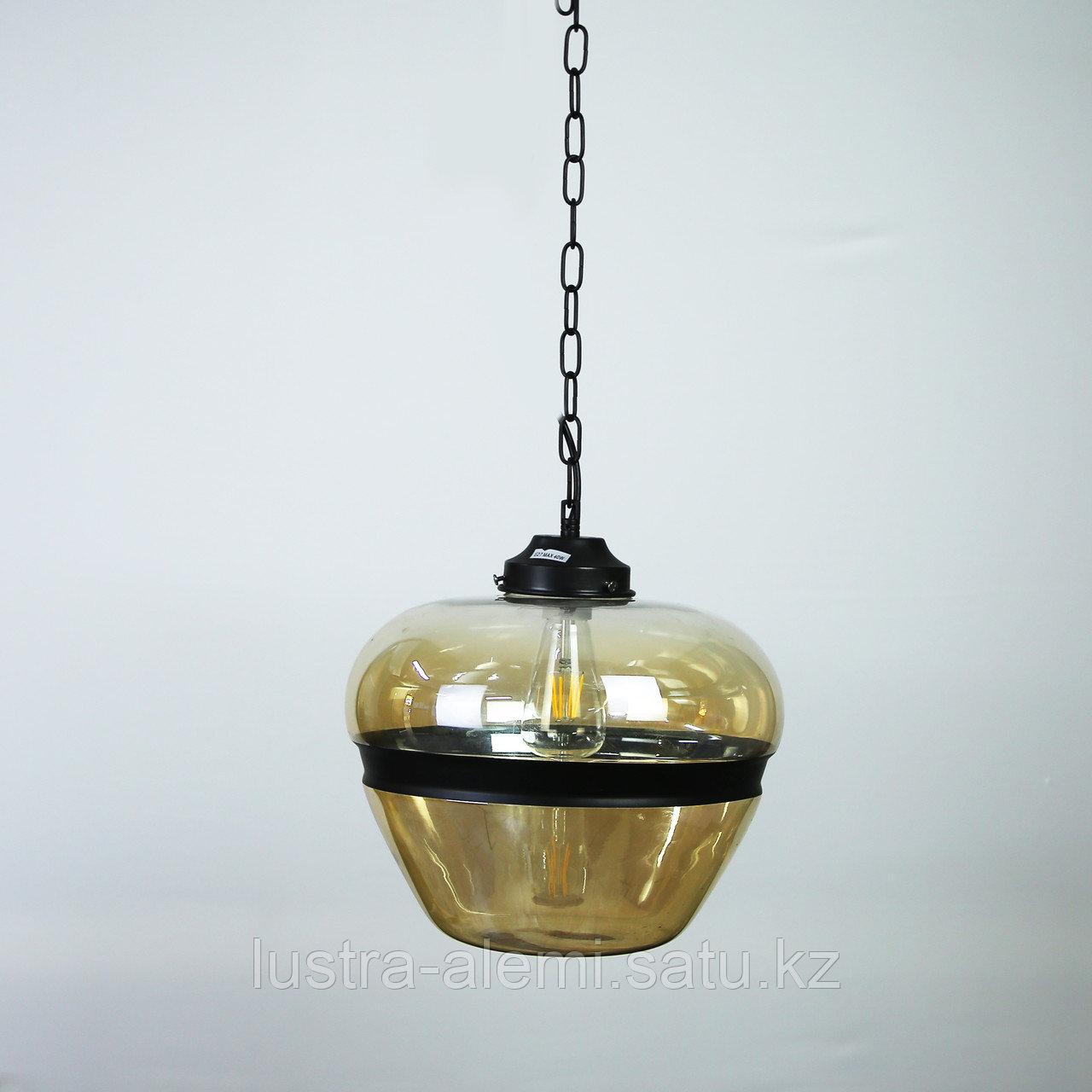 Люстра Подвесная 8050/1B E27 AMBER GLASS (ASYA AVIZE)