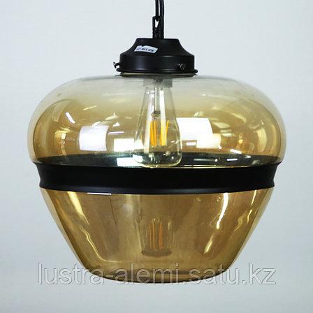 Люстра Подвесная 8050/1B E27 AMBER GLASS (ASYA AVIZE), фото 2