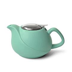 Заварочный чайник 750 мл, цвет АКВАМАРИН (керамика)