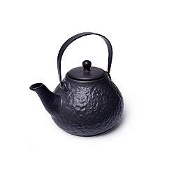 Заварочный чайник 900 мл с ситечком, ЧЕРНЫЙ (керамика)