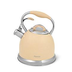Чайник для кипячения воды FELICITY 2,6л, цвет КОФЕЙНЫЙ (нерж.сталь)