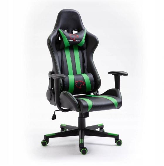 Кресло геймерское игровое  F4G FG33 Green