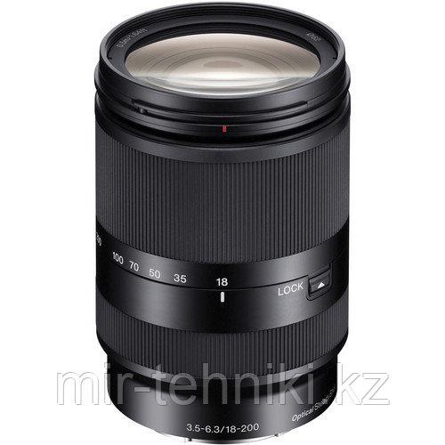 Объектив Sony E 18-200mm f/3.5-6.3 OSS (SEL18200LE, E Mount, APS-C Format)
