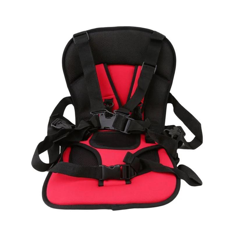 Бескаркасное автокресло для детей, цвет красный Черная Пятница!