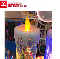 Лава-лампа с Дед Морозом